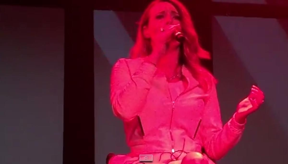 Występ Moniki Kuszyńskiej w Amsterdamie