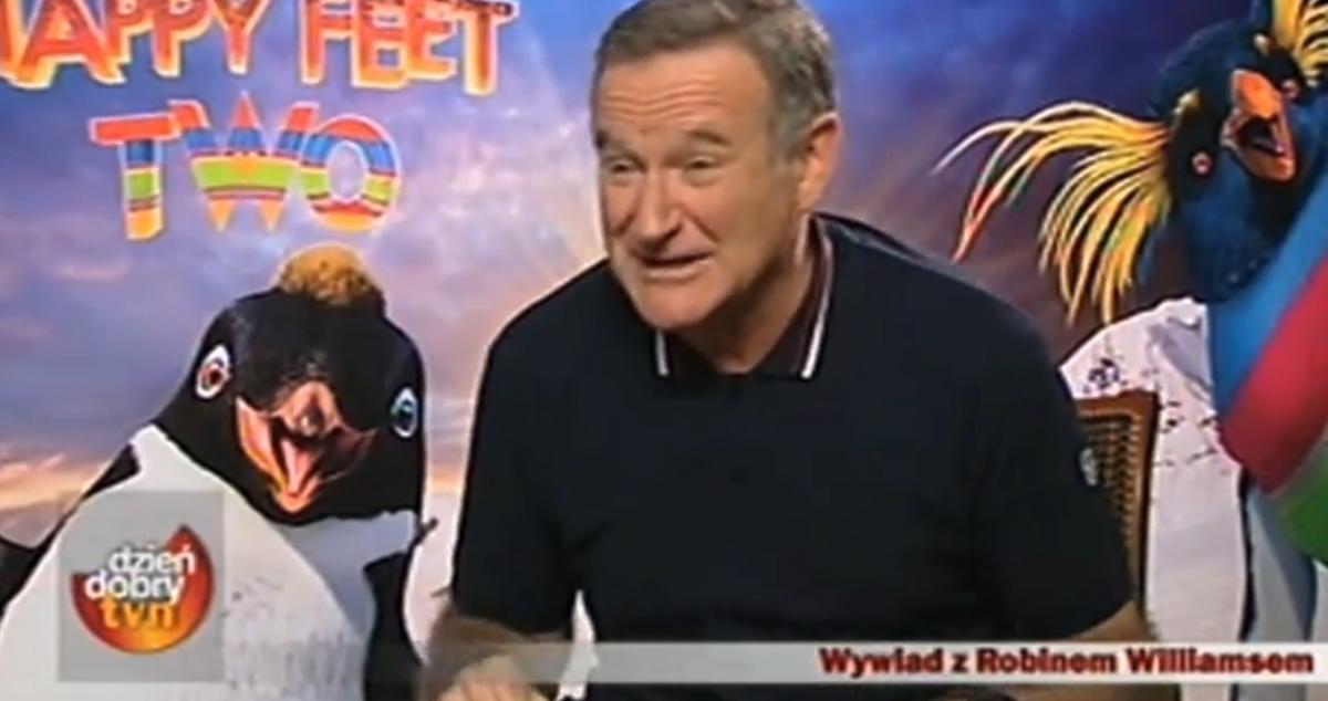 Wywiad Anny Wendzikowskiej z Robinem Williamsem
