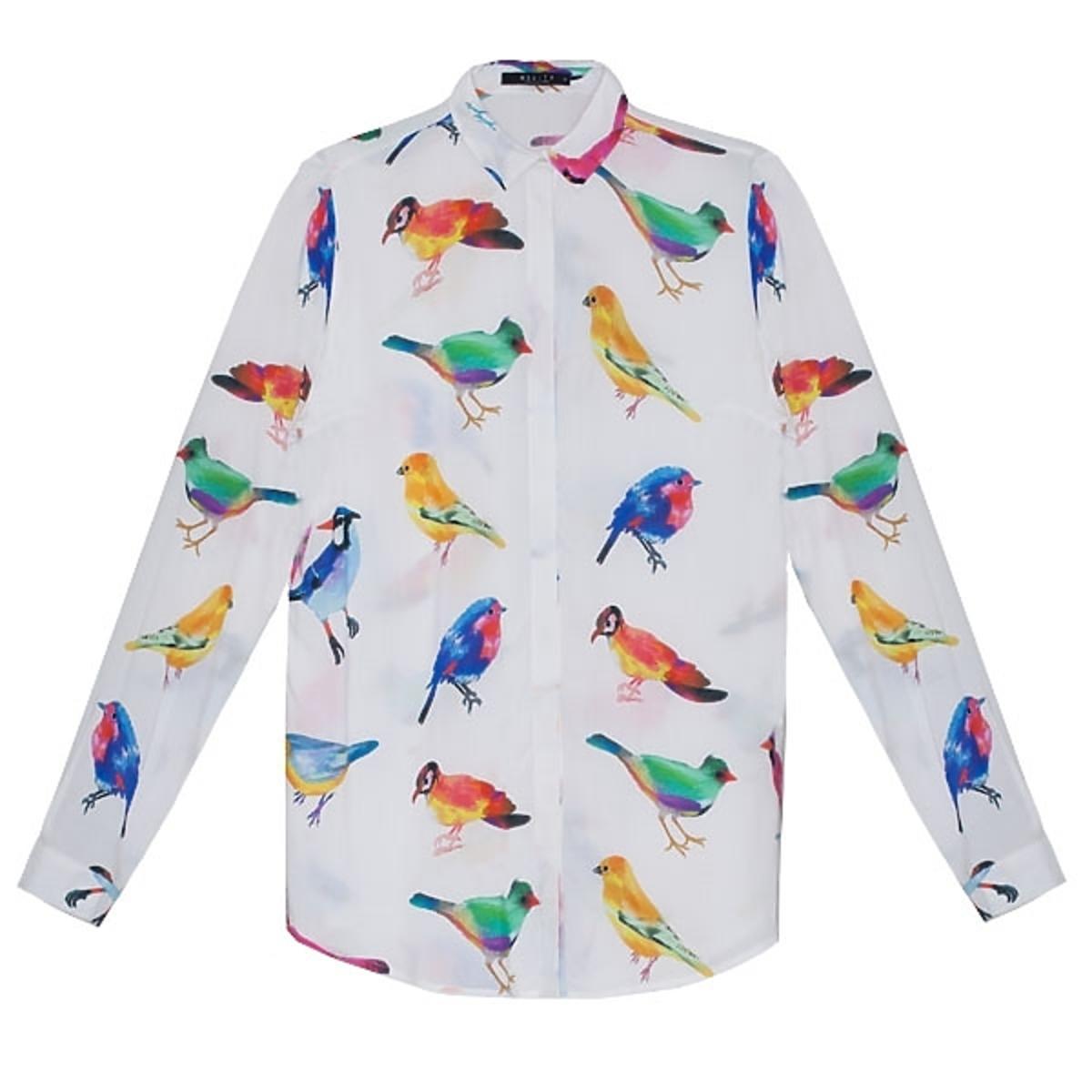 Wzorzysta koszula Mohito, cena