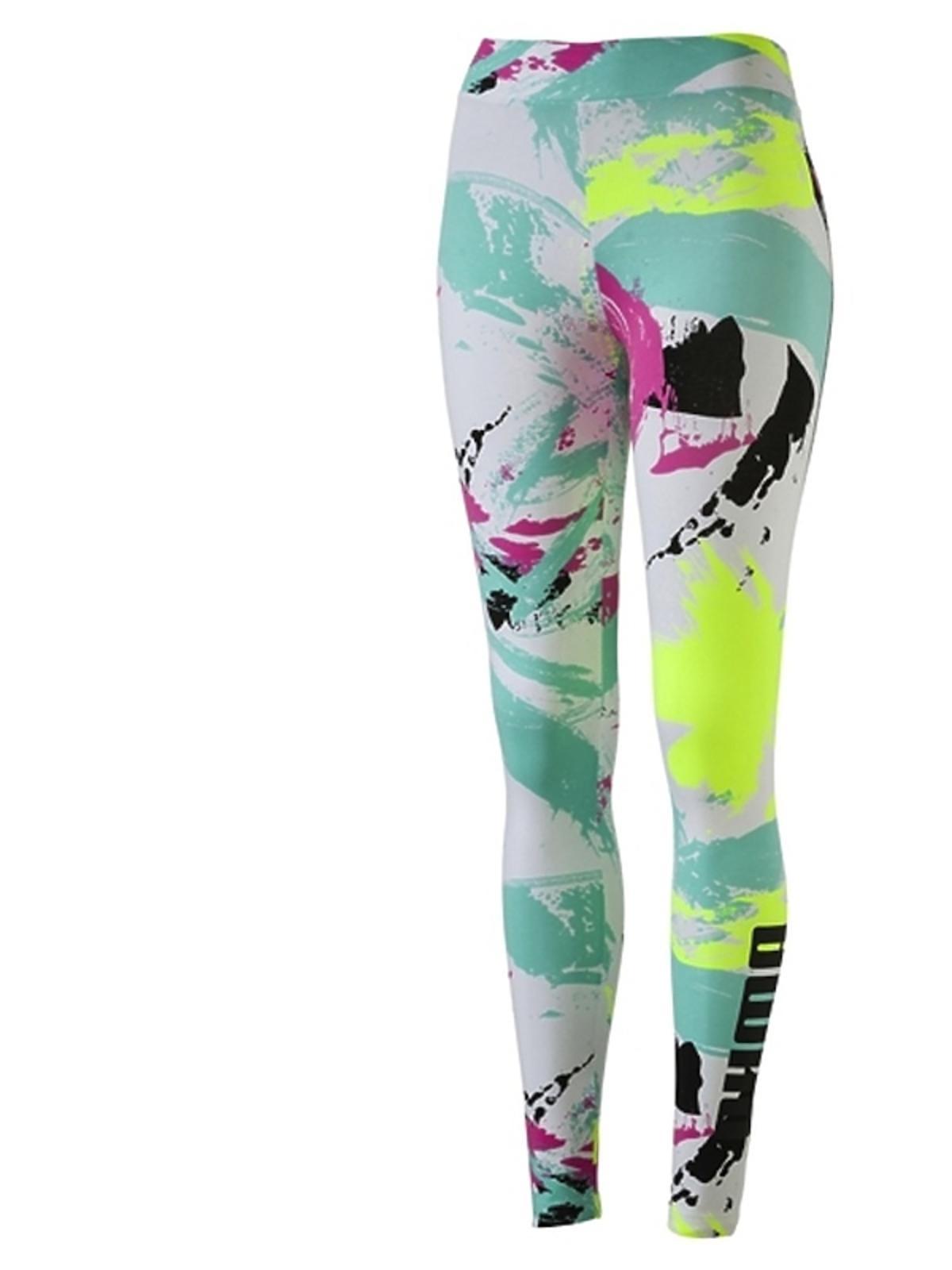 Wzorzyste legginsy Puma wiosna lato 2017