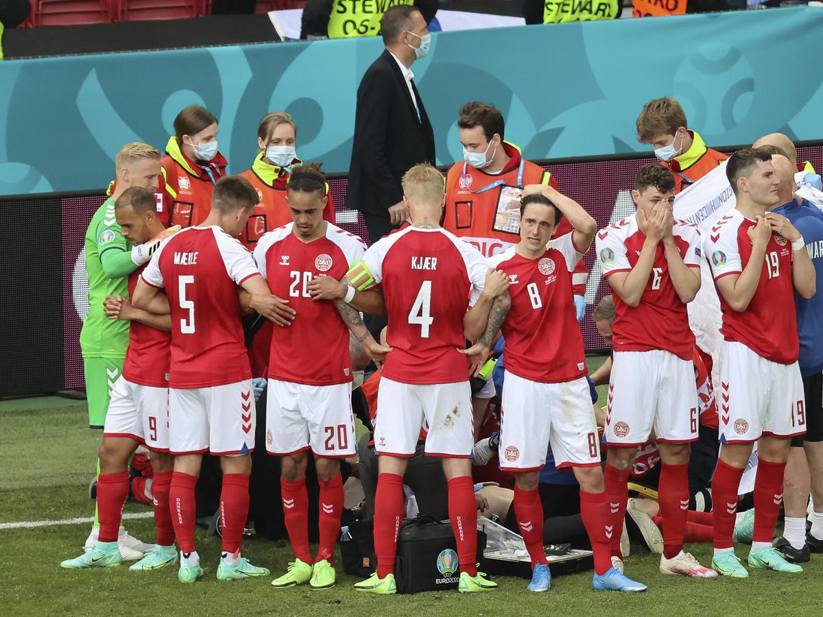 Wzruszająca postawa duńskich piłkarzy na Euro 2020