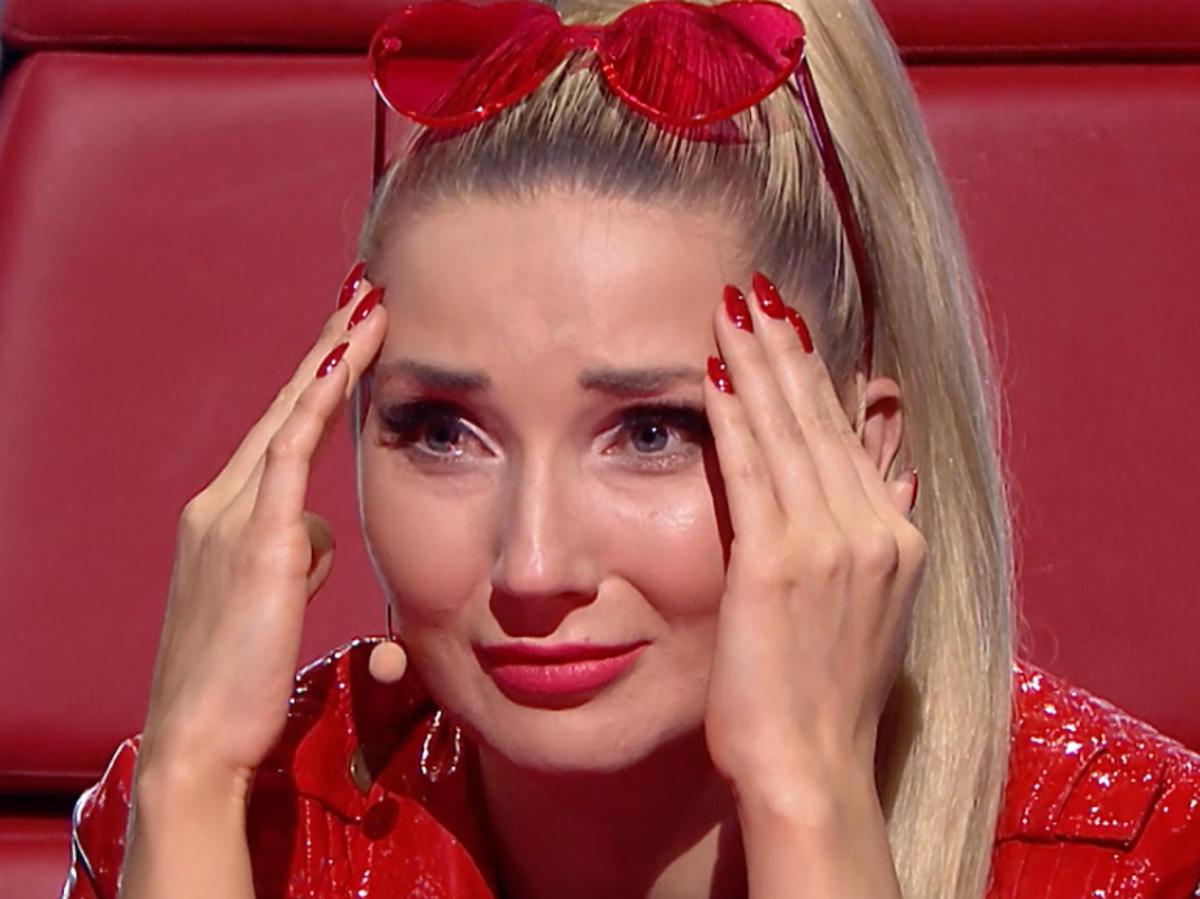 Wzruszona Cleo w programie The Voice Kids 3