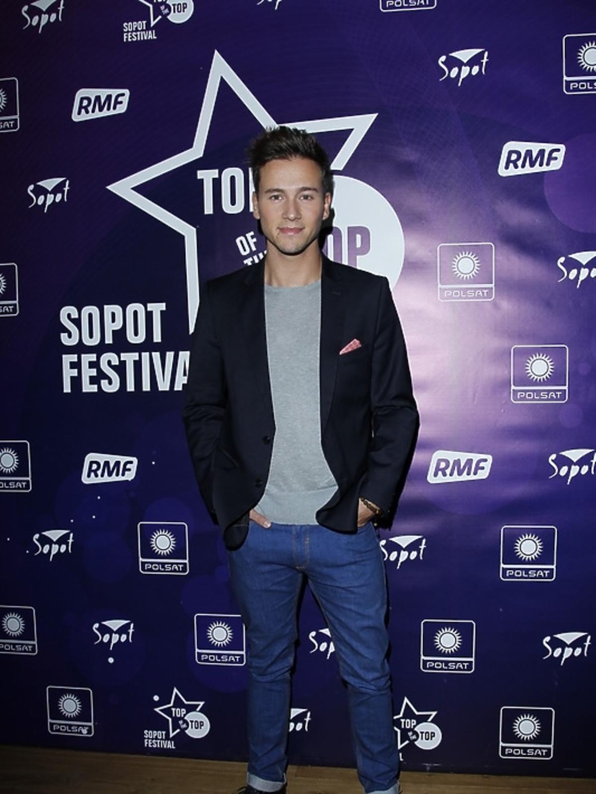 Yannick Bovy podczas konferencji Sopot Top of the Top Festival 2013