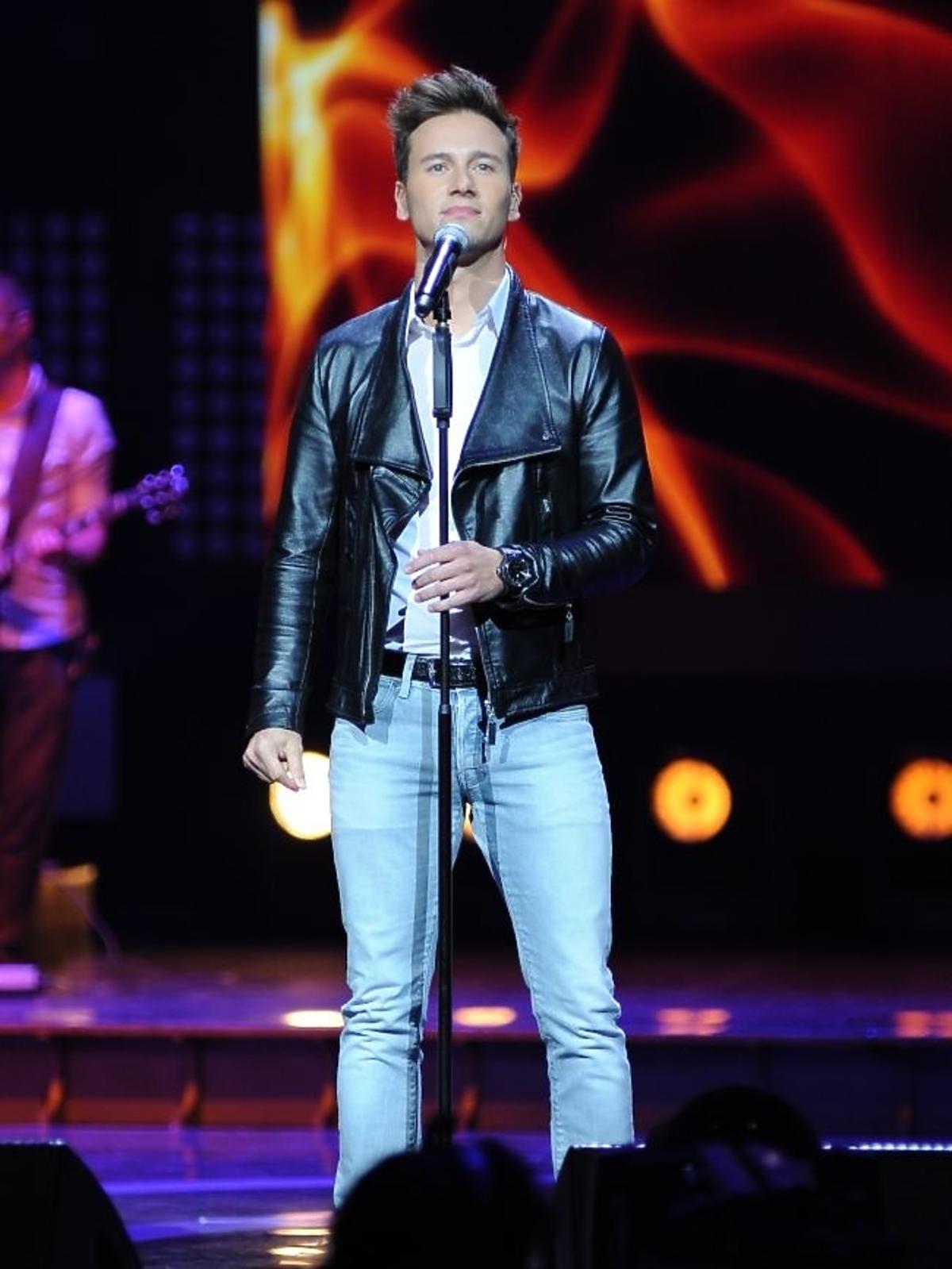 Yannick Bovy podczas pierwszego dnia Sopot Top of the Top Festival 2013