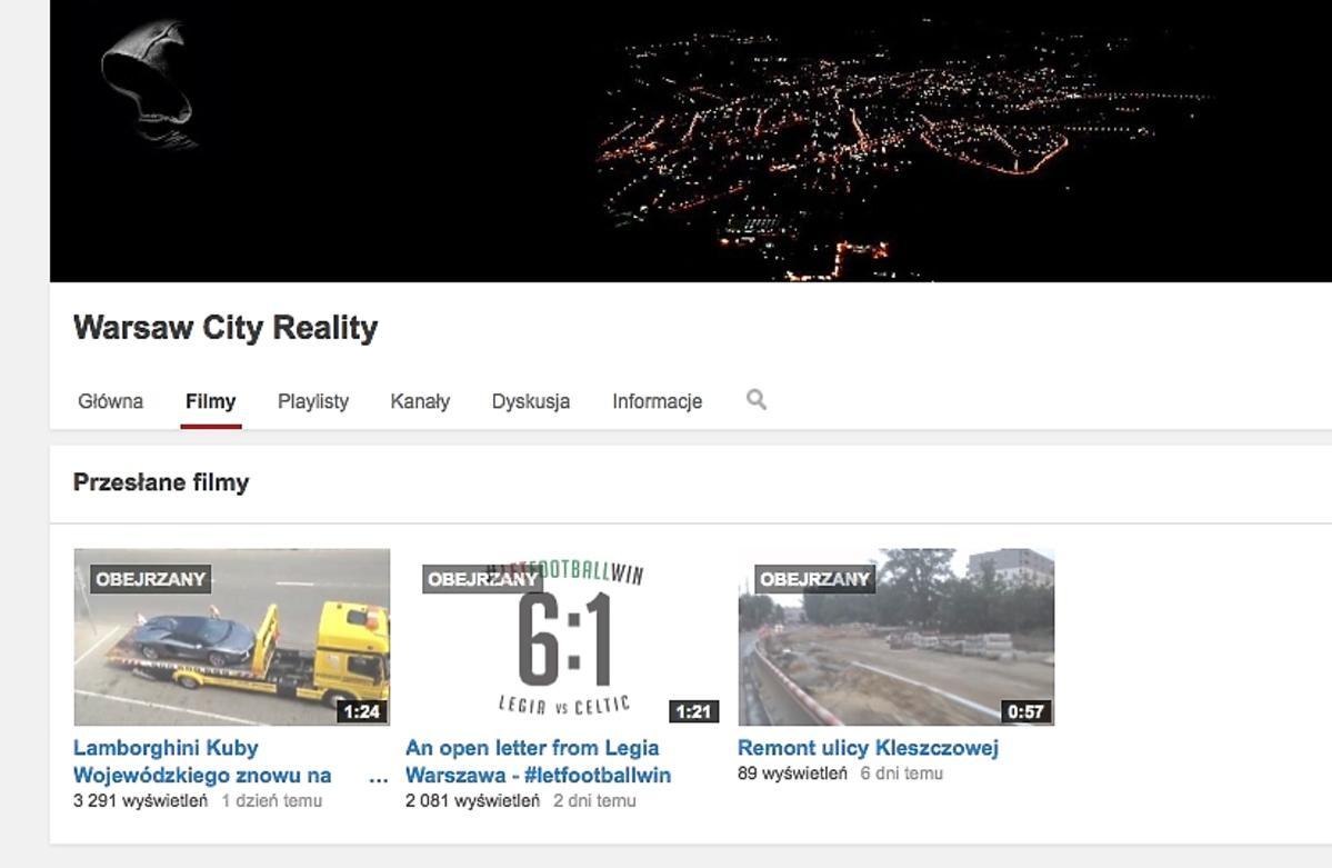 YouTube Kuby Wojewódzkiego