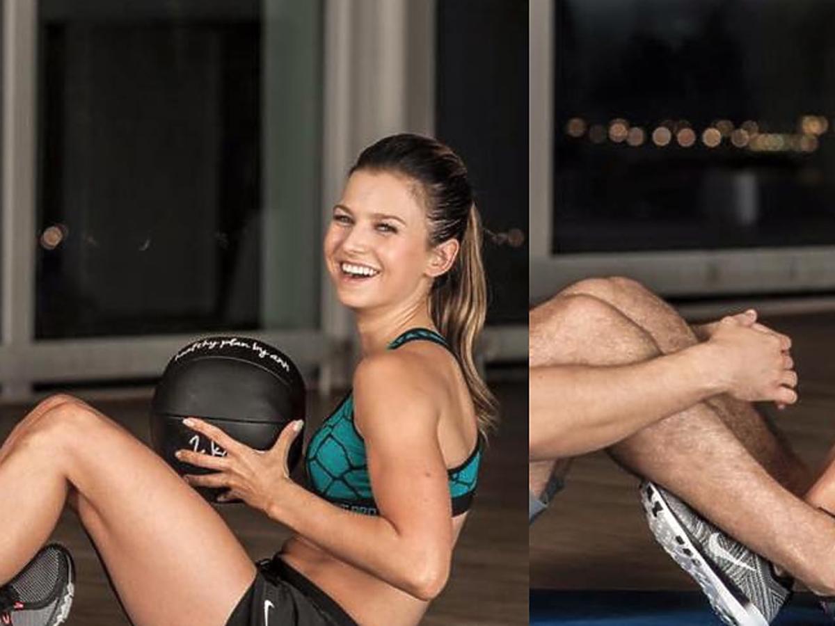 Z kim ćwiczy Anna Lewandowska?