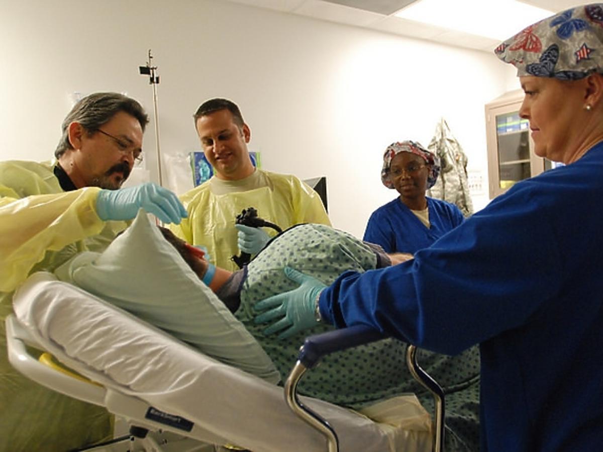 Zabieg gastroskopii