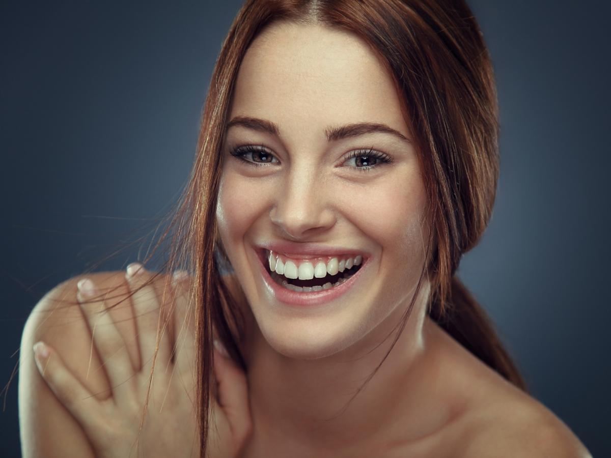 zadowolona kobieta