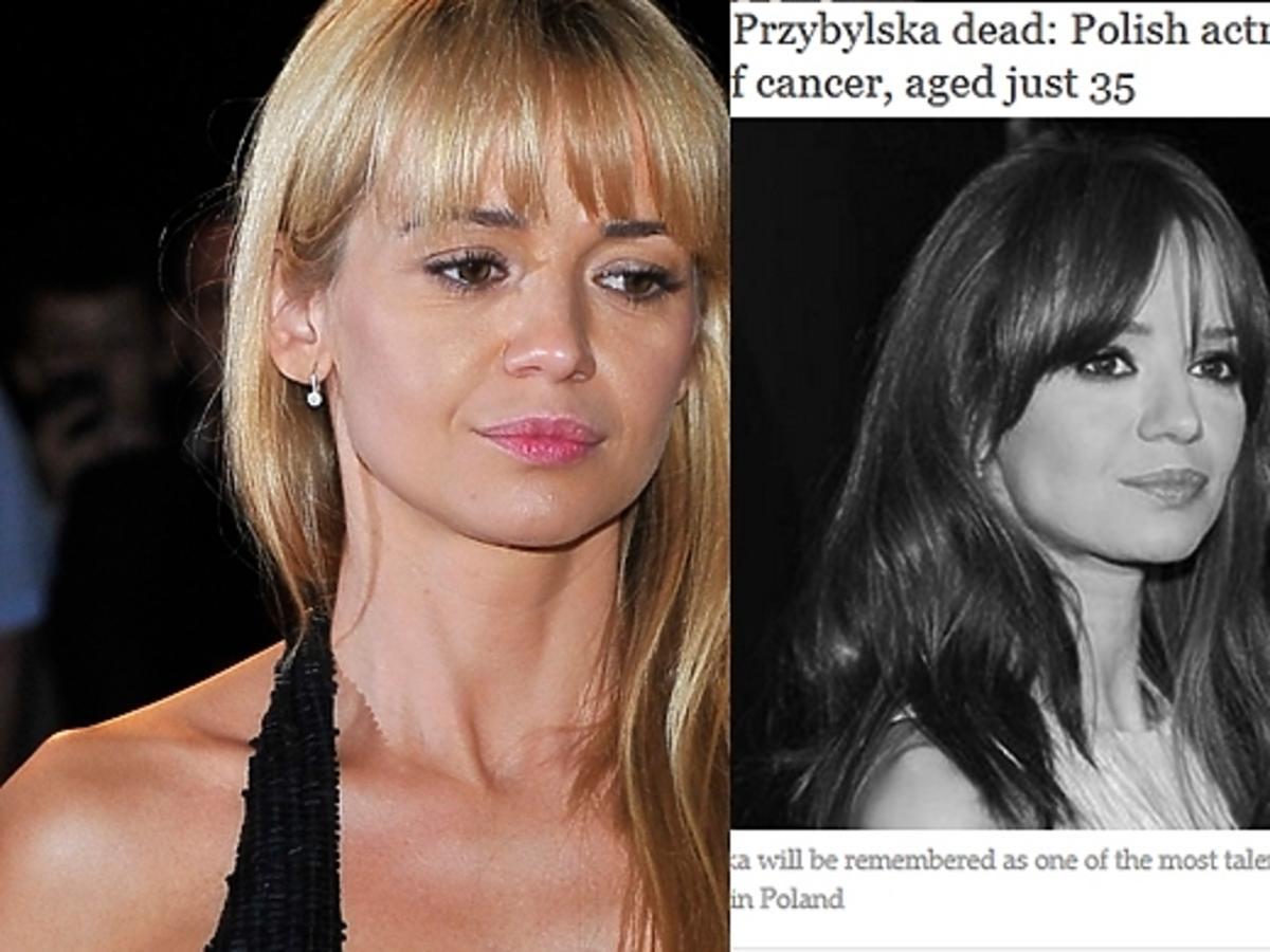 Zagraniczne media o śmierci Anny Przybylskiej