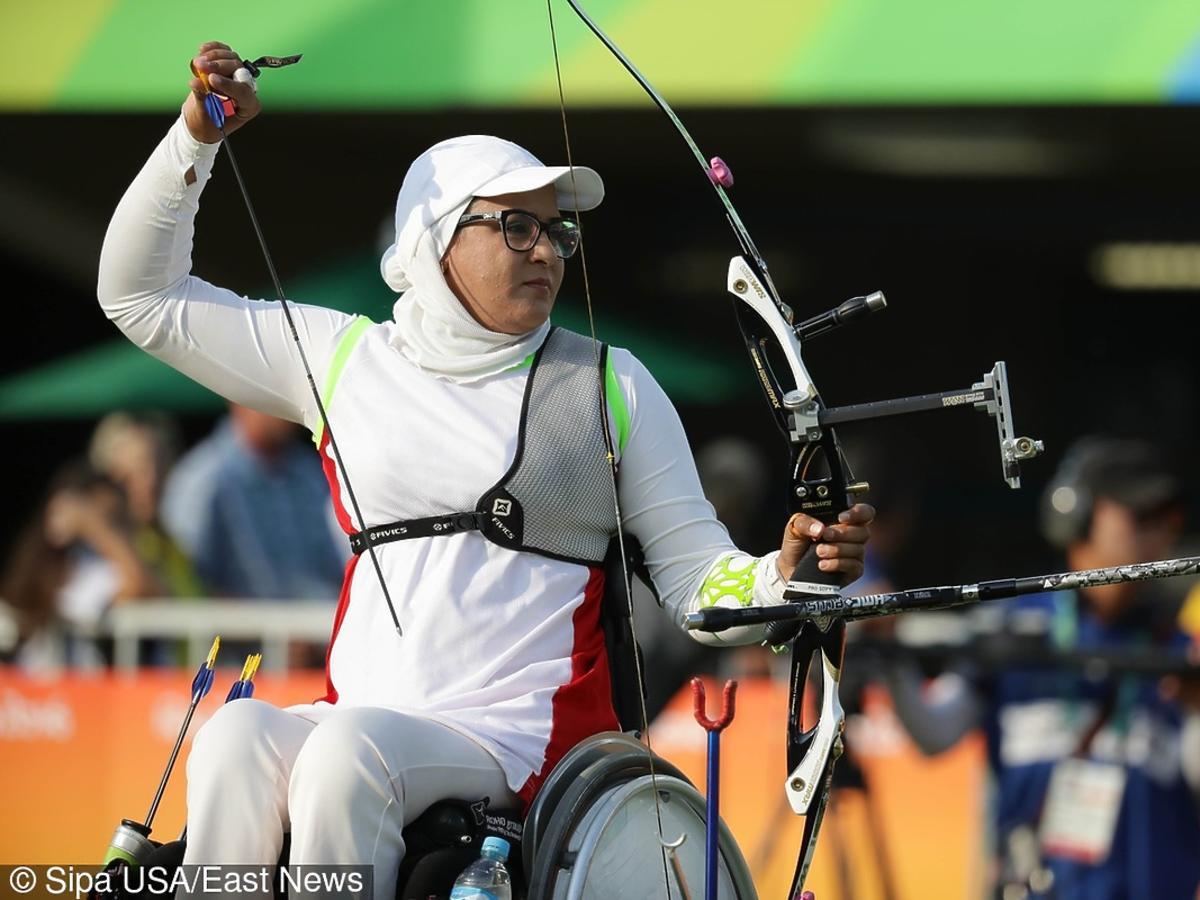 Zahra Nemati irańska niepełnosprawna łuczniczka na igrzyskach Rio 2016