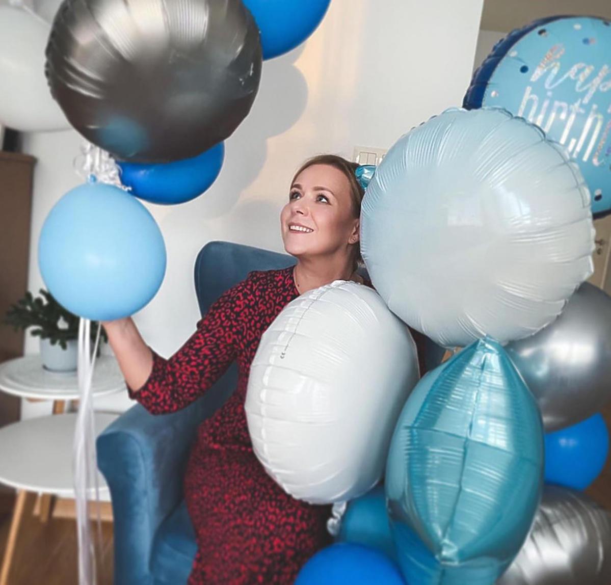 Zając Aneta z balonami