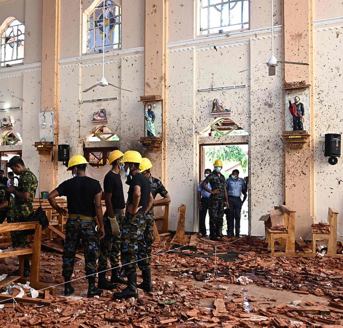 zamach na Sri Lance ofiary