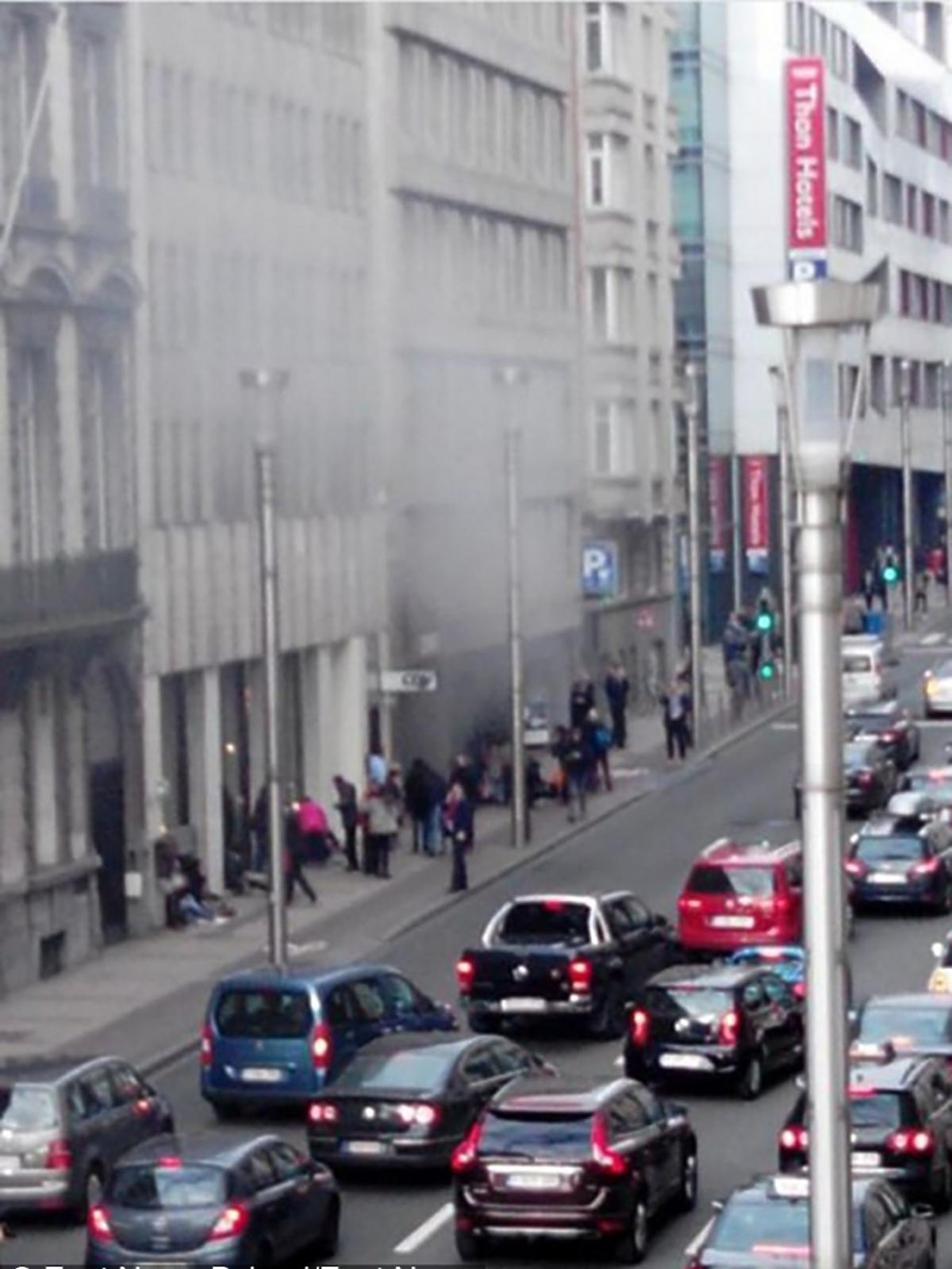 Zamachy na lotnisku i w metrze w Brukseli