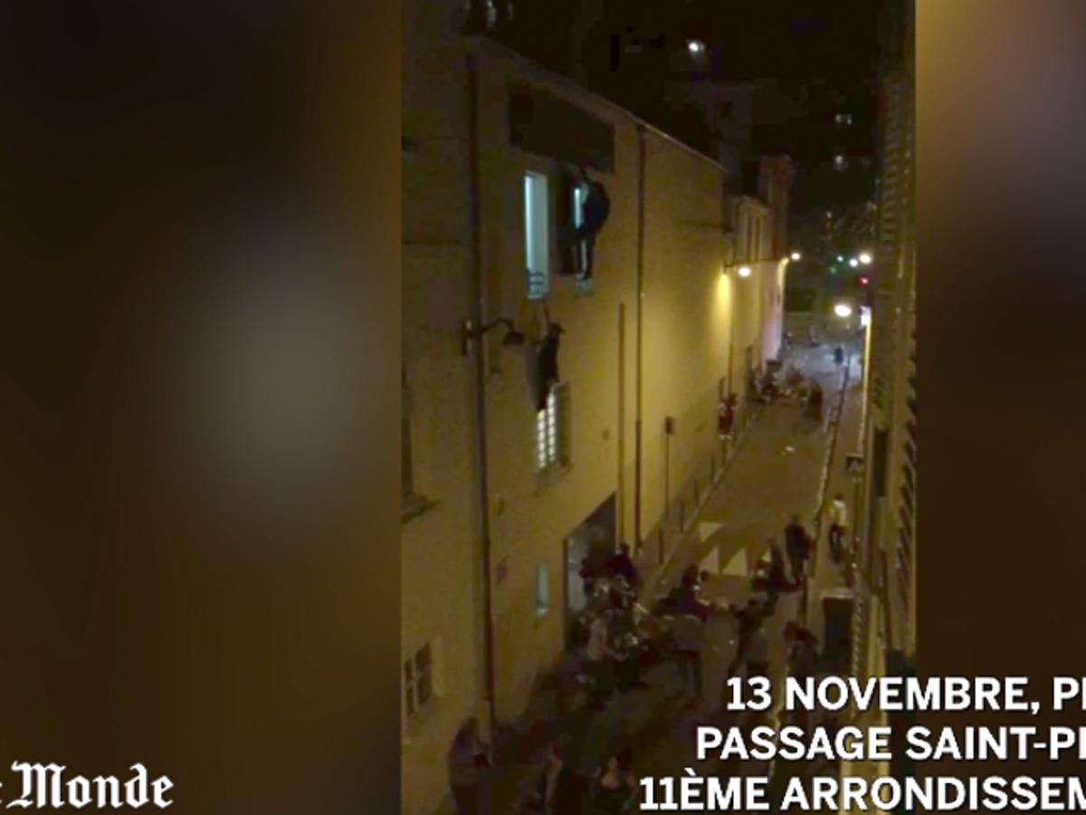 Zamachy terrorystyczne we Francji - nagrania wideo