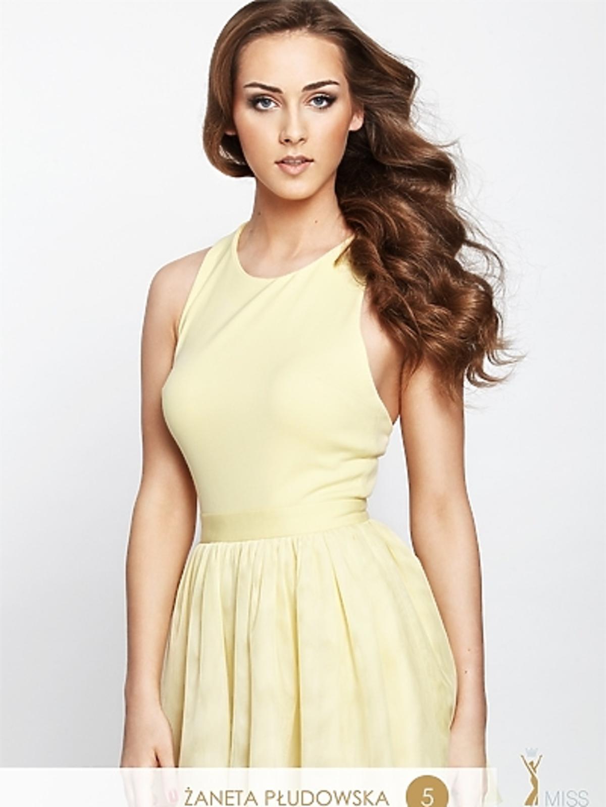 Żaneta Płudowska - kandydatka do tytułu Miss Polonia 2012