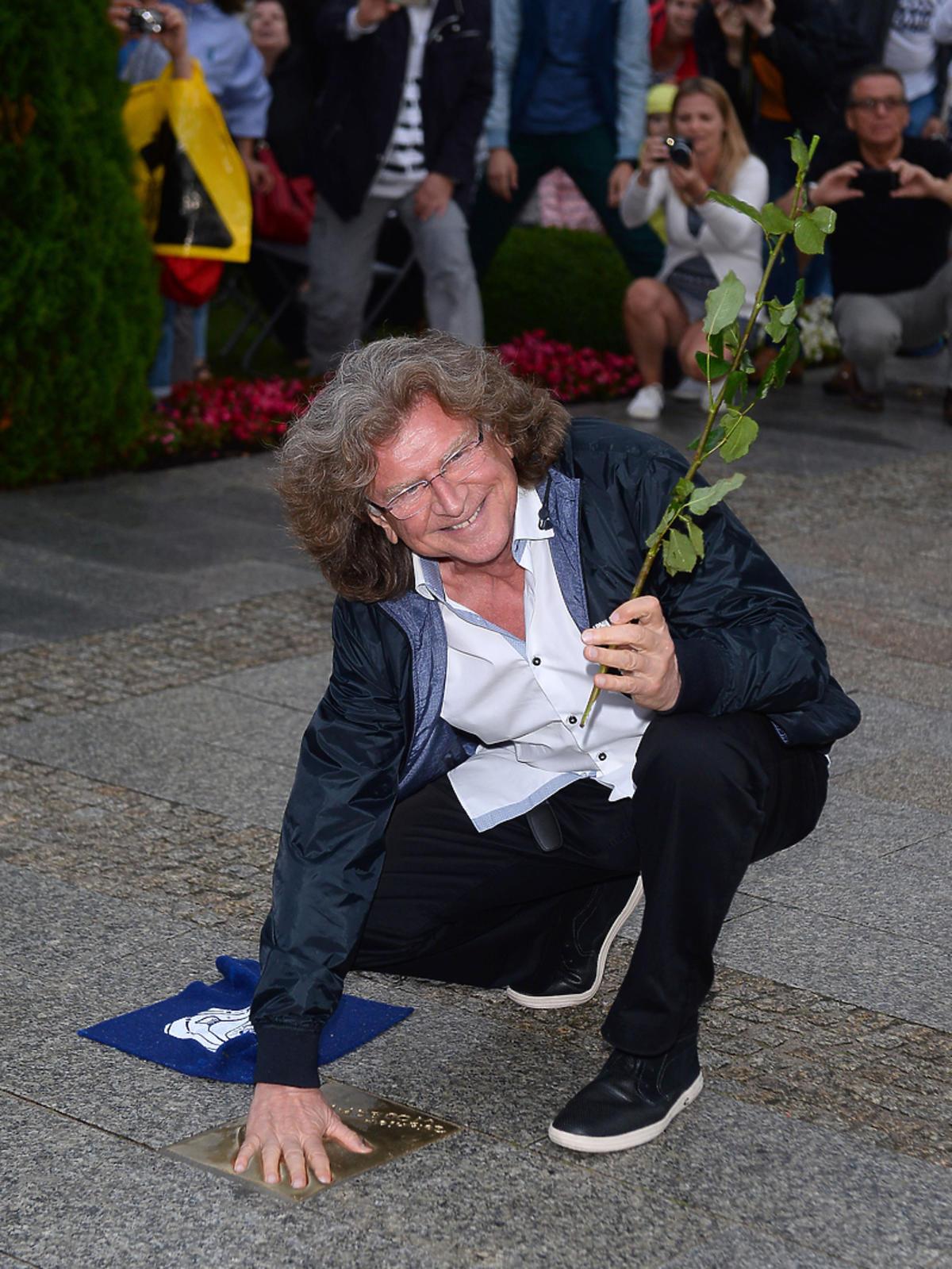 Zbigniew Wodecki na Festiwalu Gwiazd w Międzyzdrojach