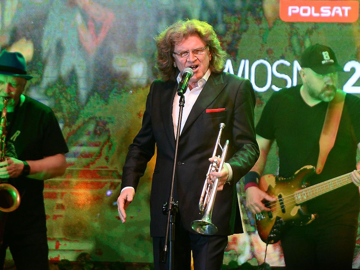 Zbigniew Wodecki podczas prezentacji wiosennej ramówki Polsatu