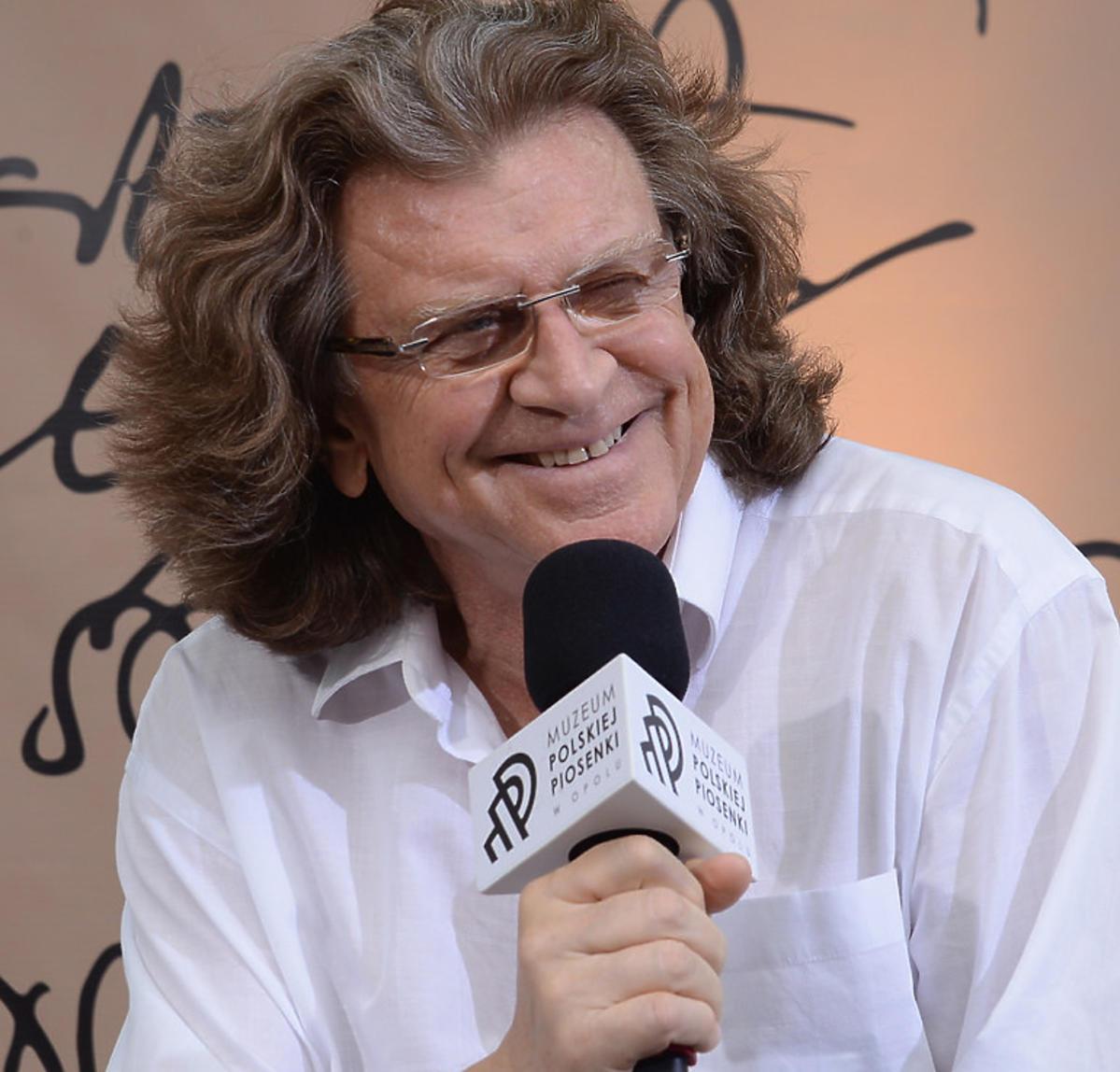 Zbigniew Wodecki udziela wywiadu