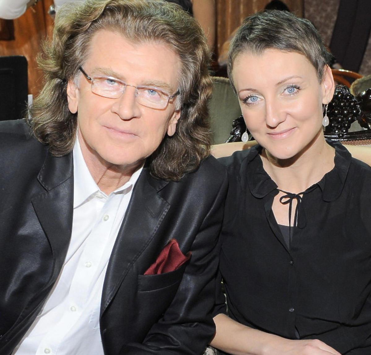 Zbigniew Wodecki z córką