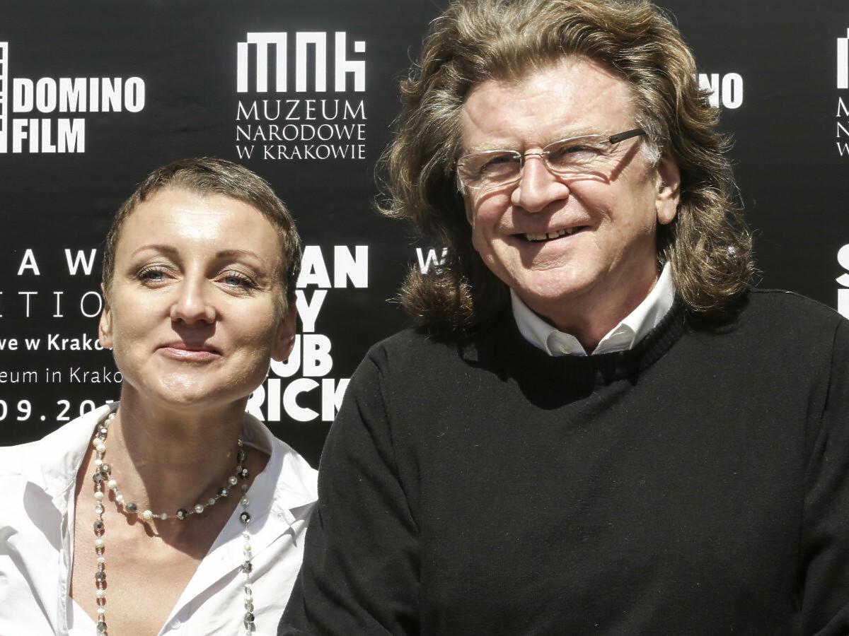 Zbigniew Wodecki z córką, Katarzyną