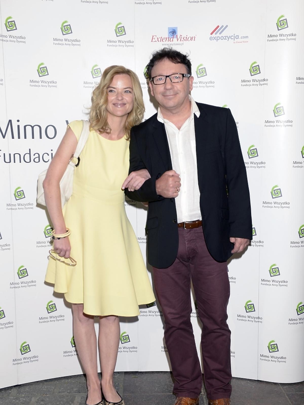 Zbigniew Zamachowski i Monika Richardson na Festiwalu Zaczarowanej Piosenki