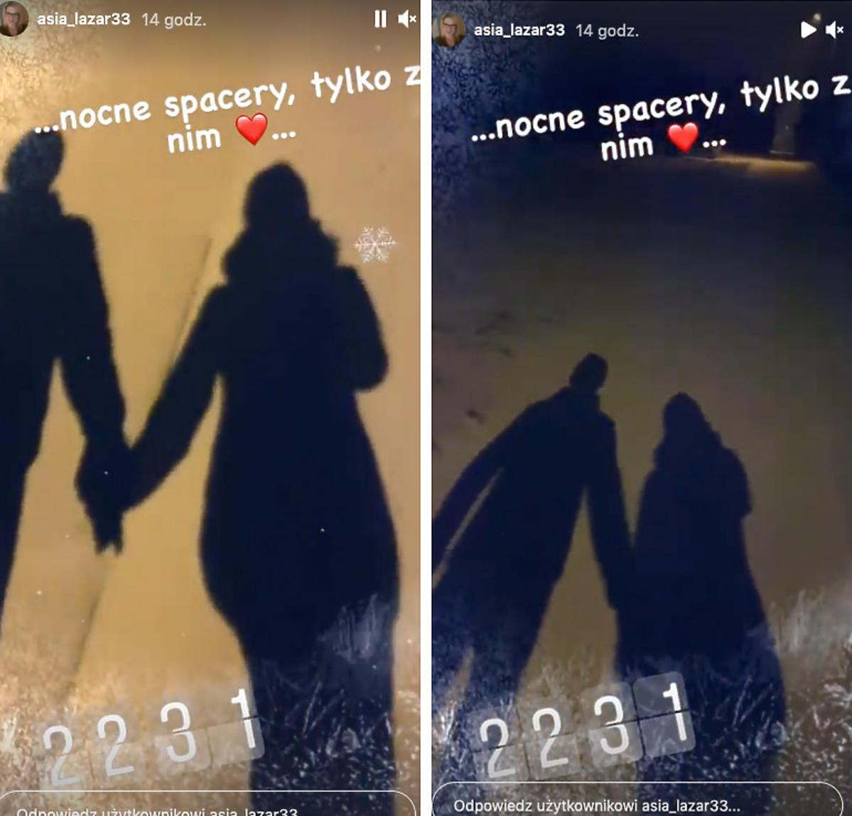 Zdjęcia cieni kładących się na ścieżce
