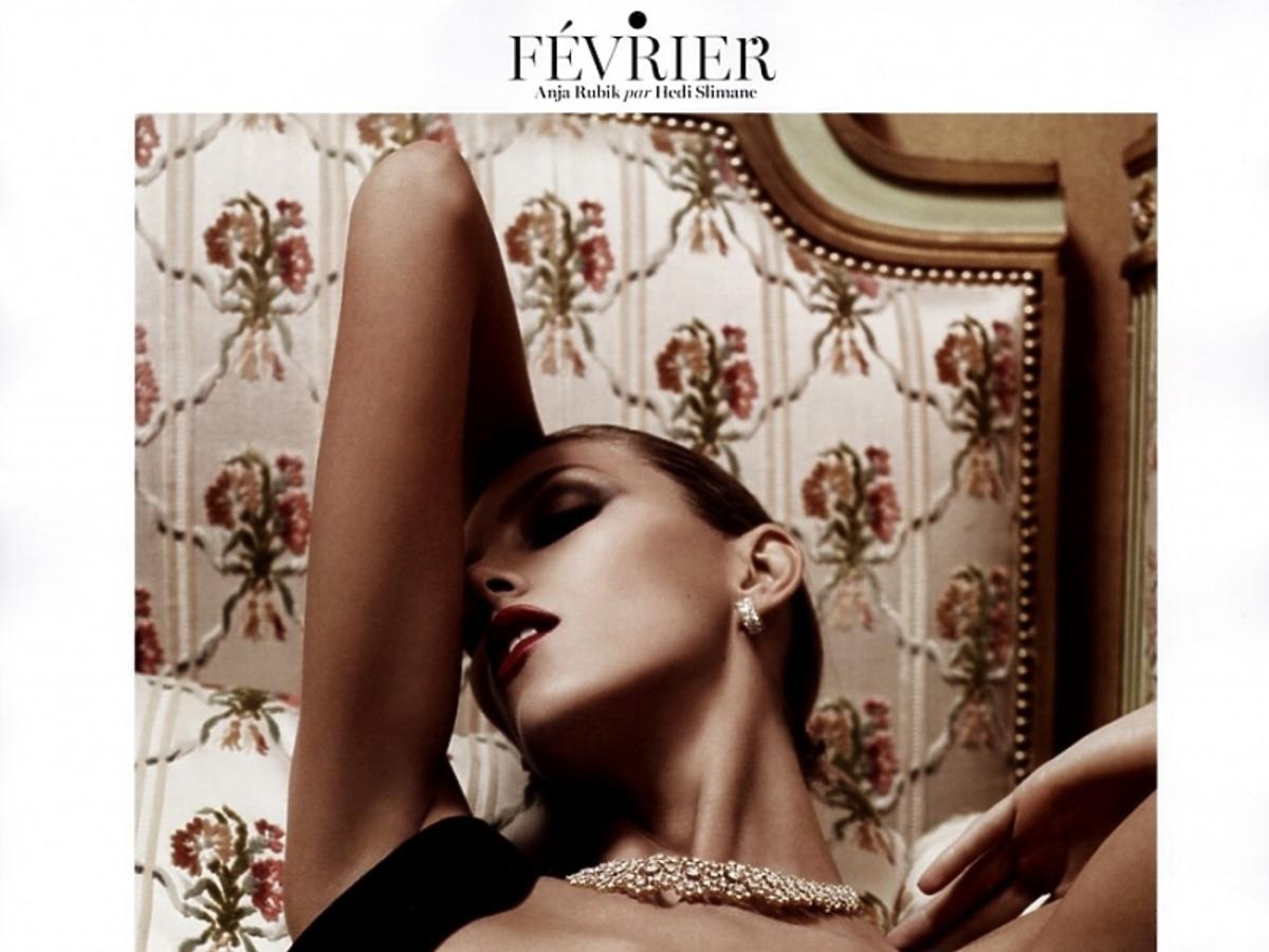 Zdjęcia do kalendarza Vogue Paris 2013