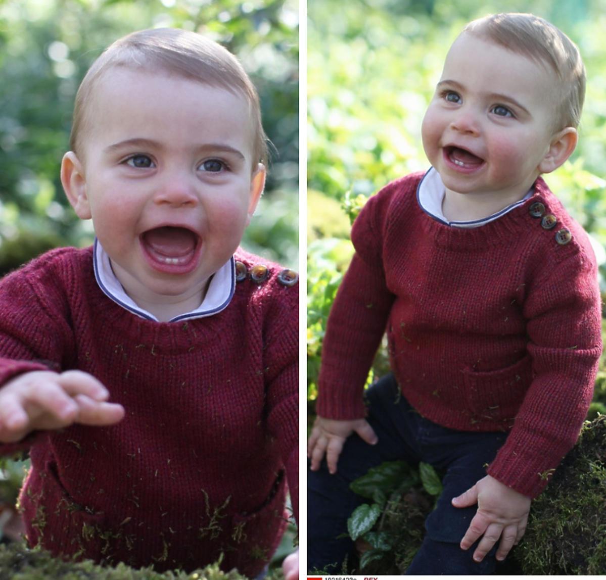 Zdjęcia z okazji 1. urodzin księcia Louisa