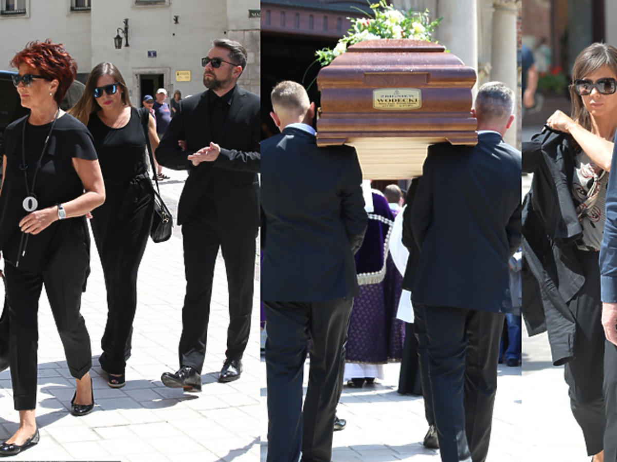 Zdjęcia z pogrzebu Wodeckiego