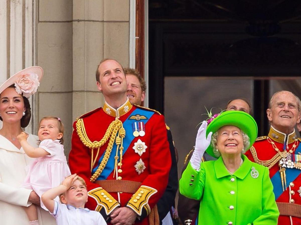 Zdjęcie Williama i Kate z okazji urodzin królowej