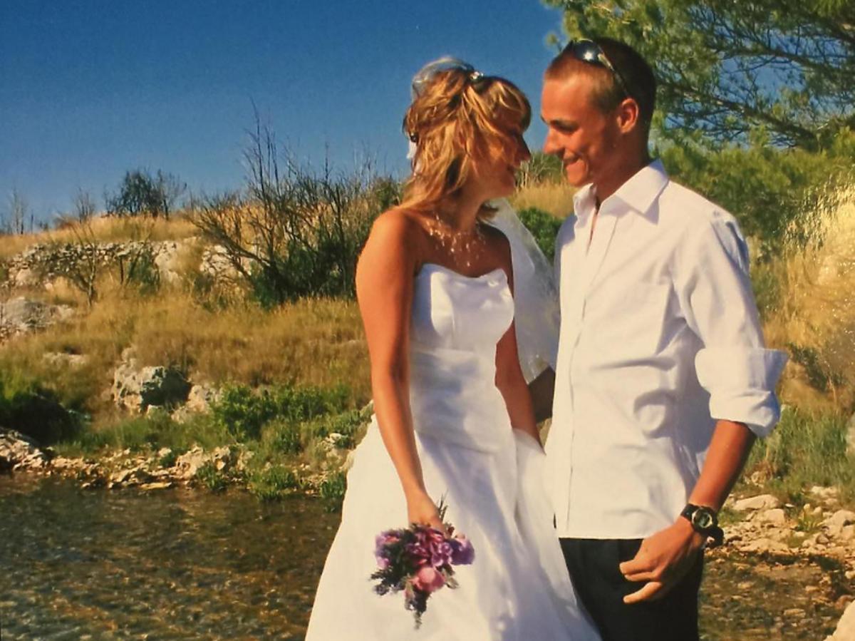 Zdjęcie ze ślubu Piotra Żyły i Justyny Żyły