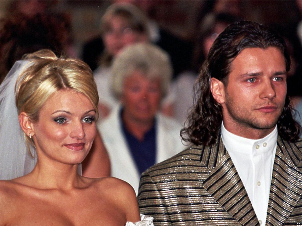 Zdjęcie ze ślubu Radka Majdana i Sylwii Majdan