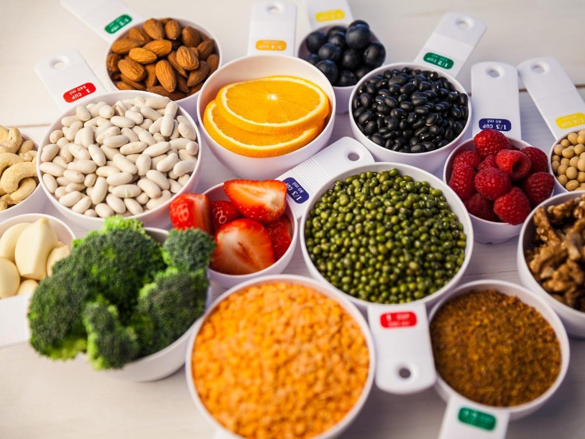 Zdrowe produkty - owoce i warzywa