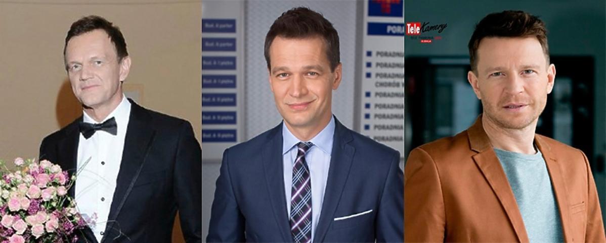 Żebrowski, Błach, Pazura, Telekamery 2016