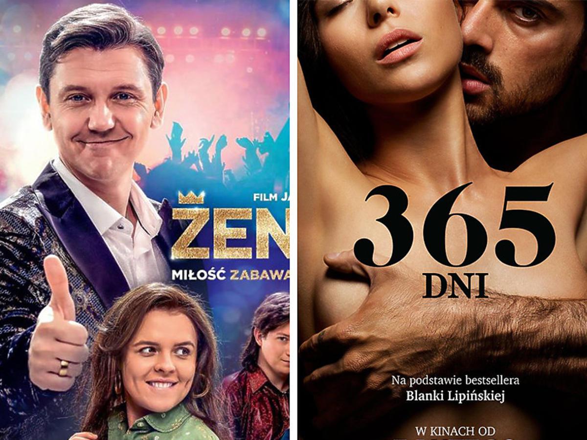"""""""Zenek"""" czy """"365 dni"""" - oglądalność po weekendzie otwarcia"""