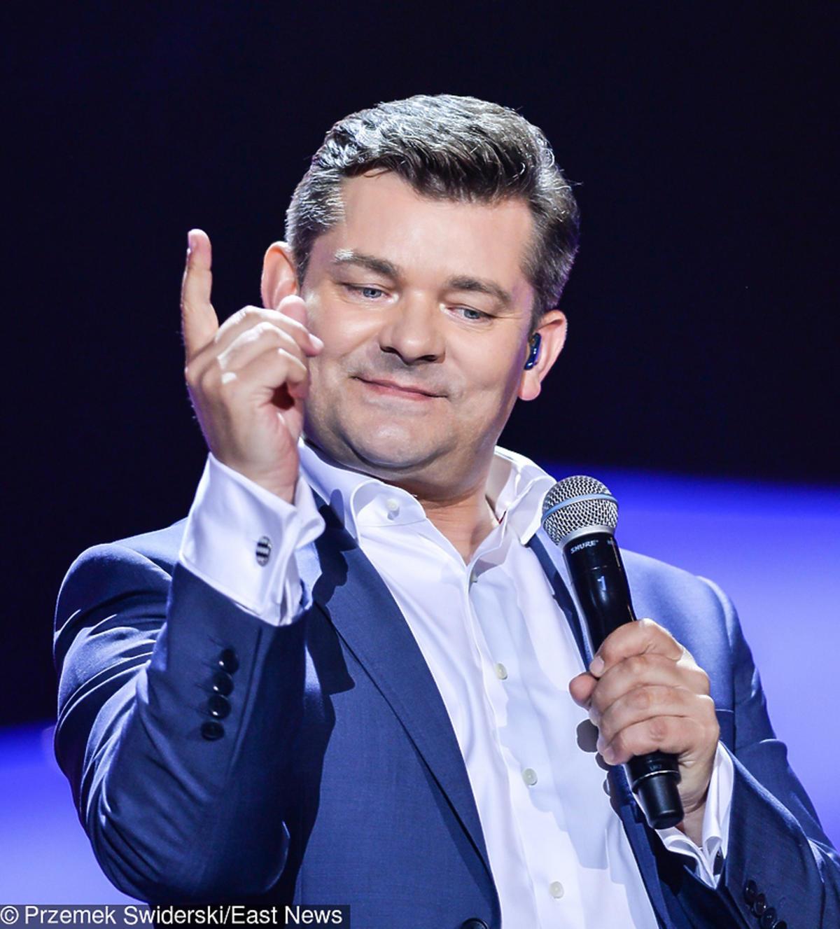 Zenek Martyniuk na scenie