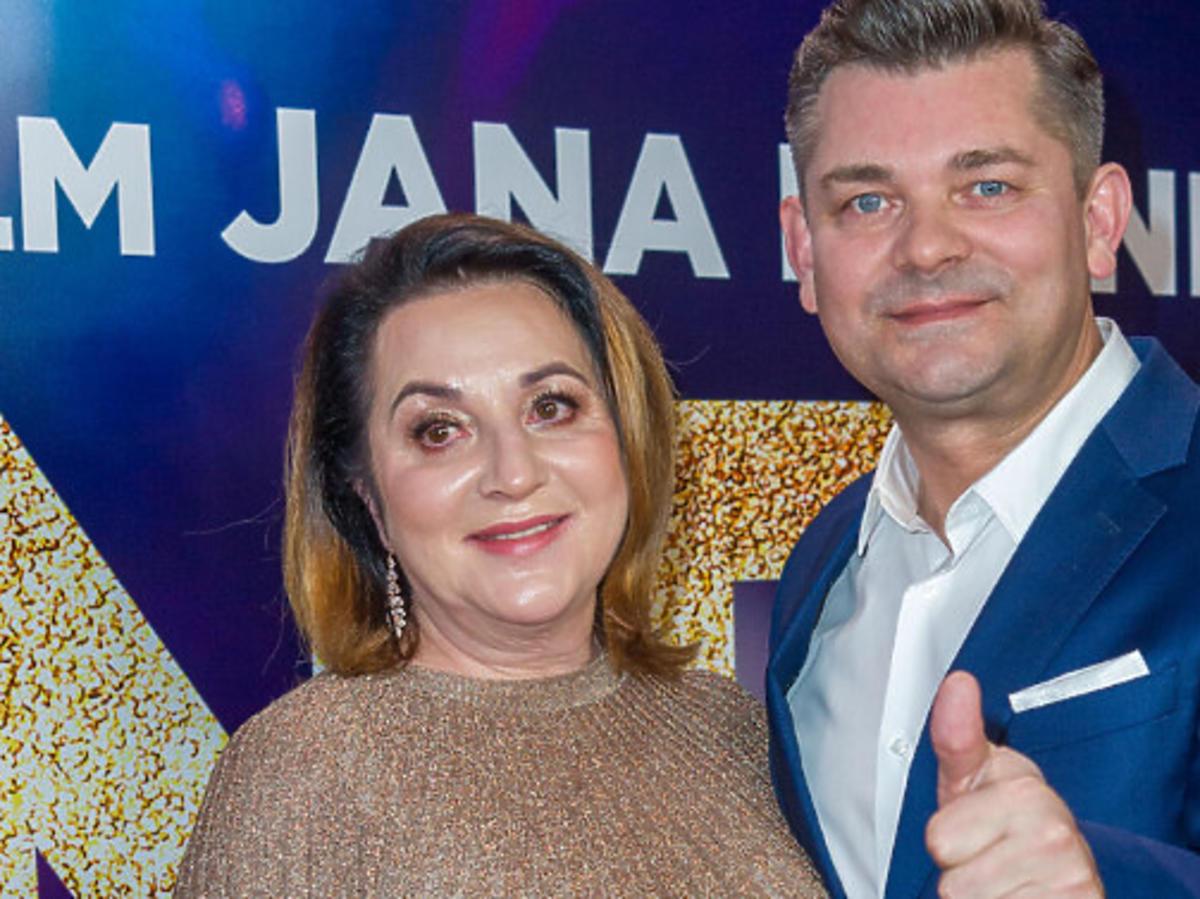 Zenek Martyniuk z żoną Danutą