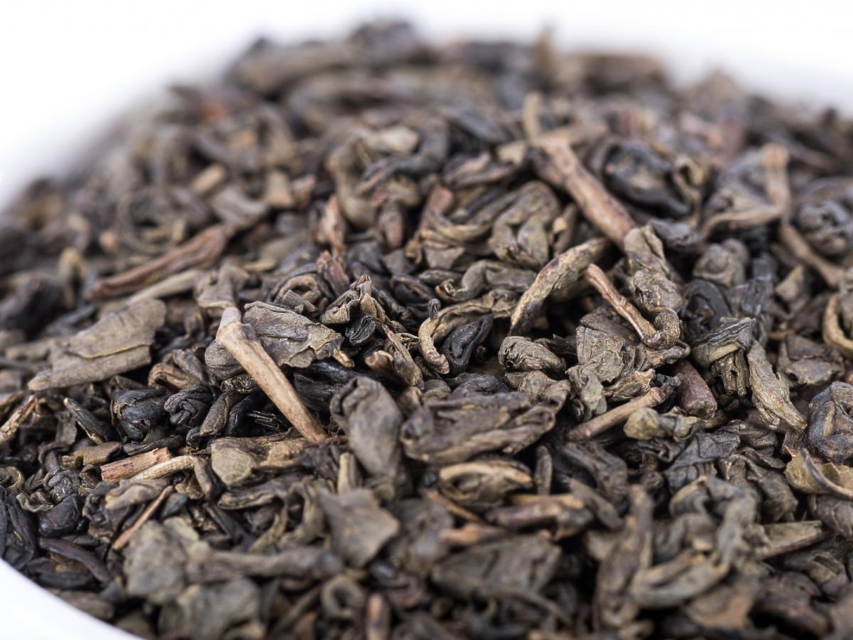 Zielona herbata gunpowder