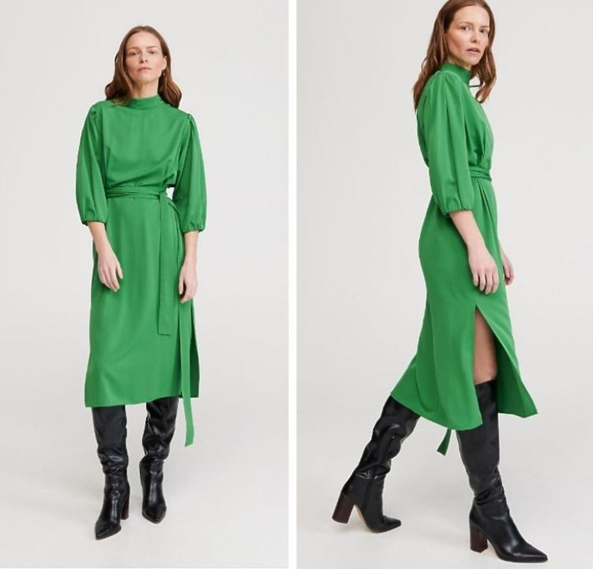 Zielona sukienka Z Reserved