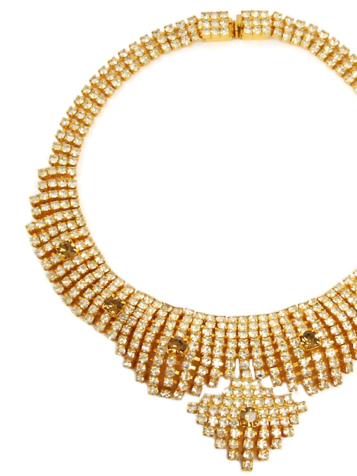 Złoty naszyjnik w rozmiarze XXL