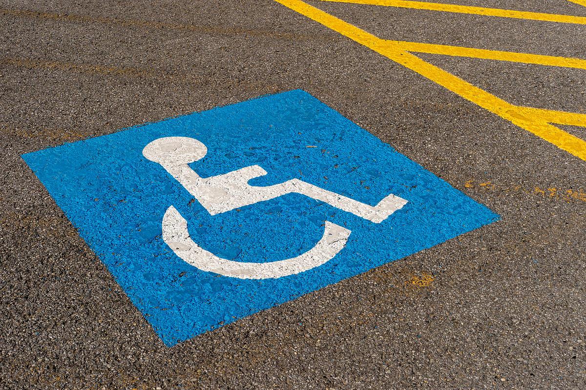 znak niepełnosprawności