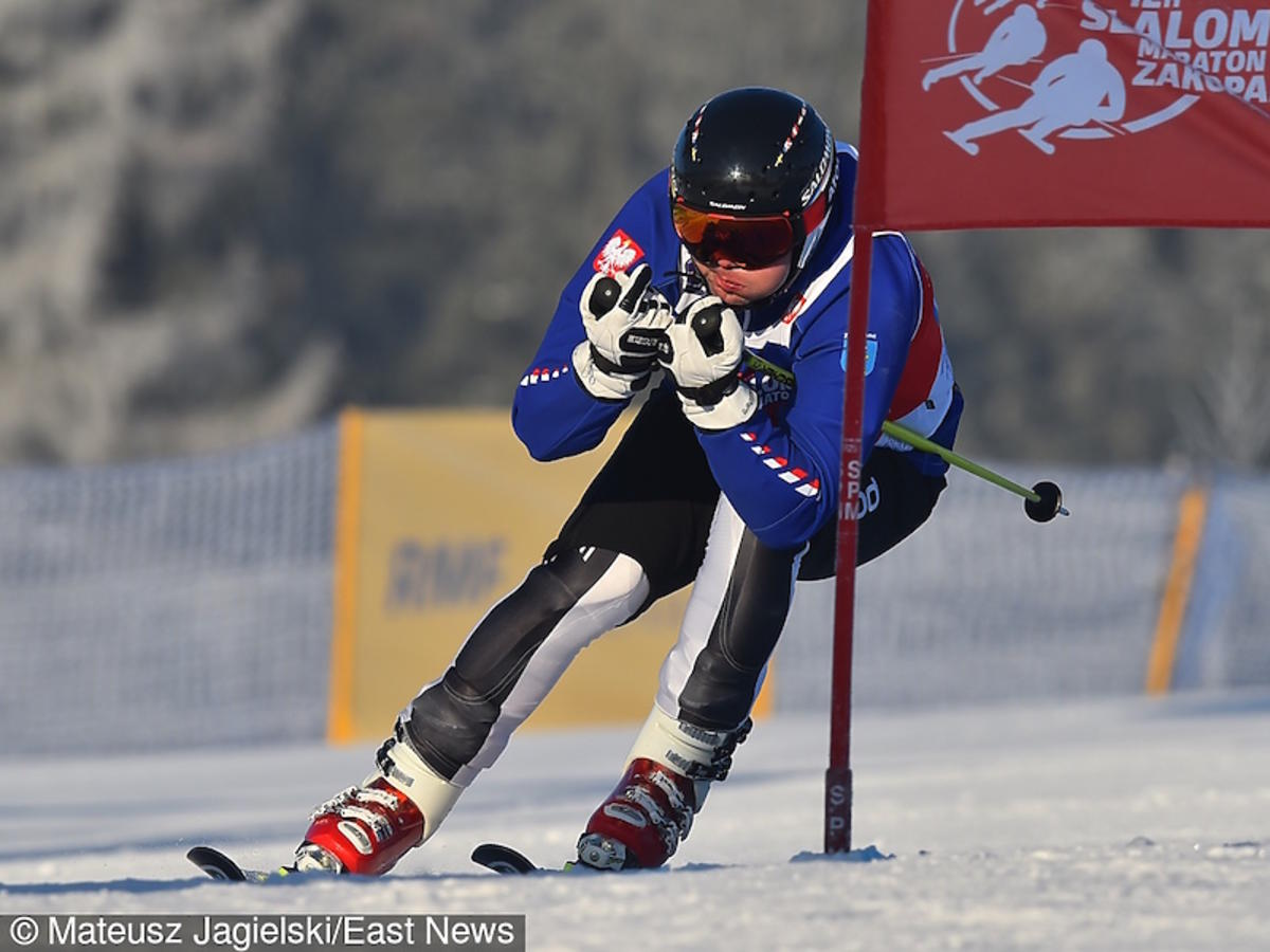 Zobacz jak Andrzej Duda jeździ na nartach w Zakopanem