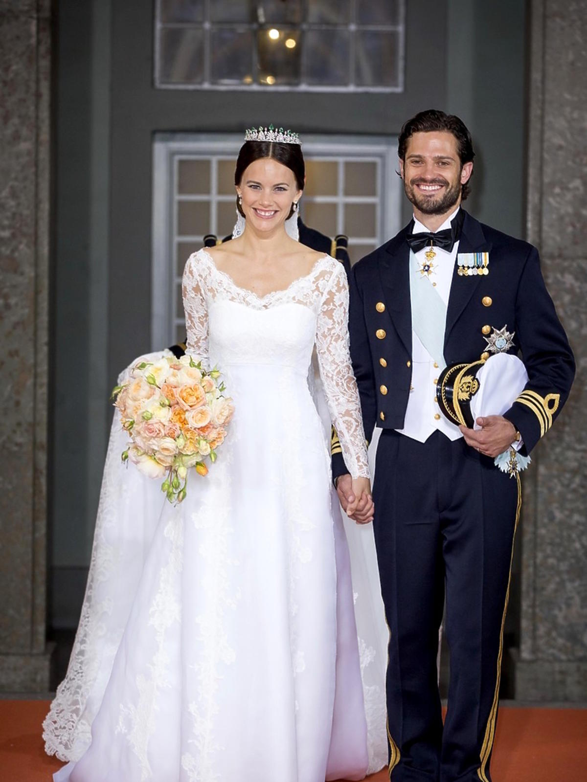 Zofia Hellqvist i Książę Karol Filip