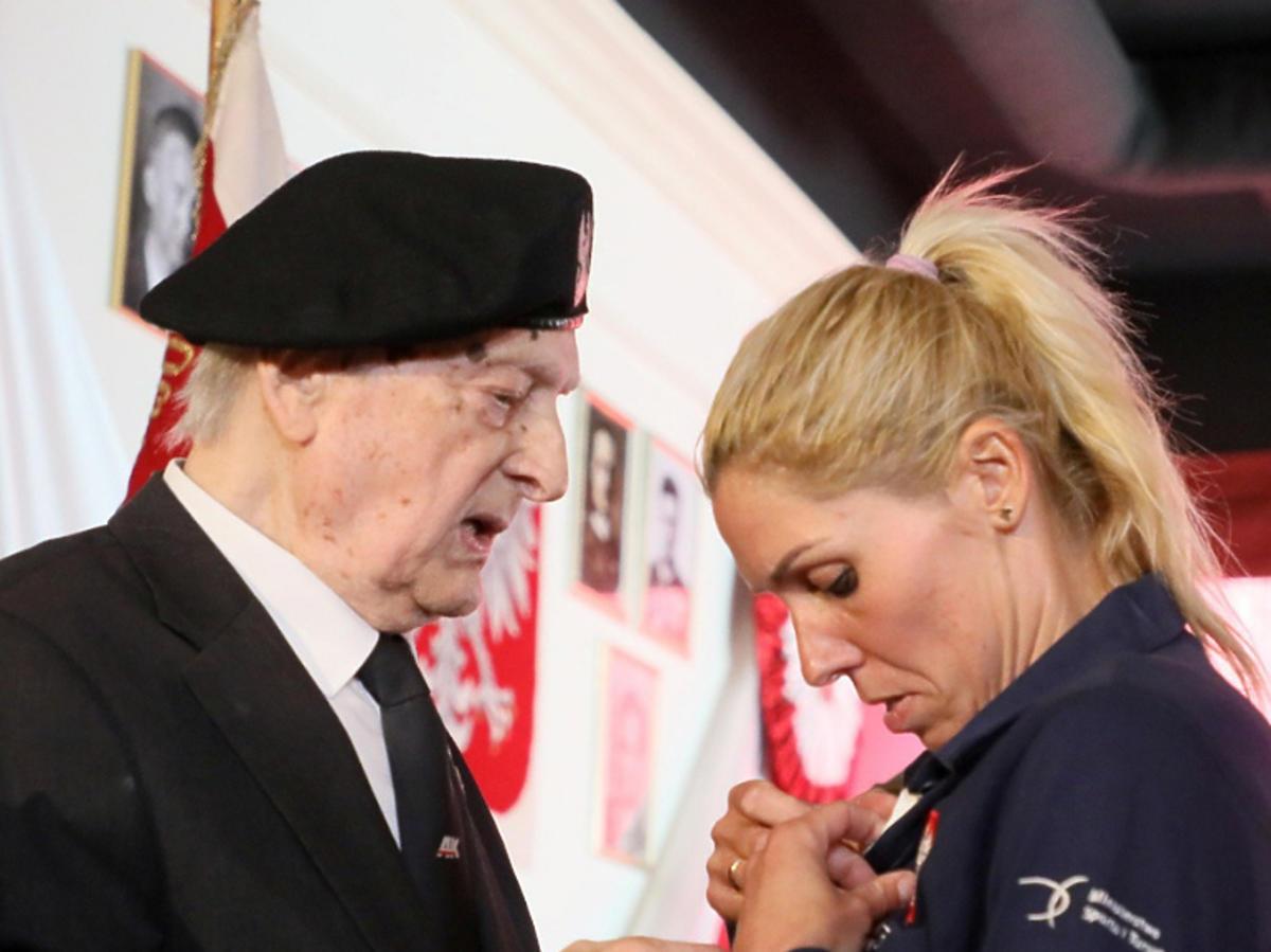 Zofia Klepacka odbiera członkostwo honorowe