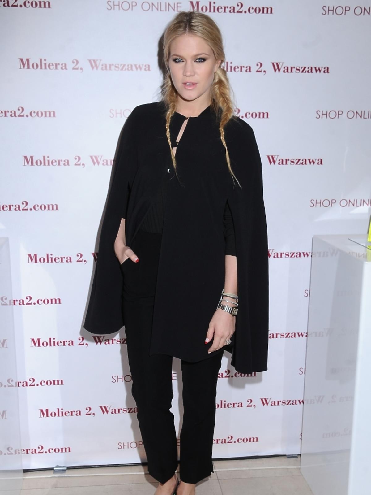 Zofia Ślotała na wernisażu fotografii Terry Richardson for Valentino