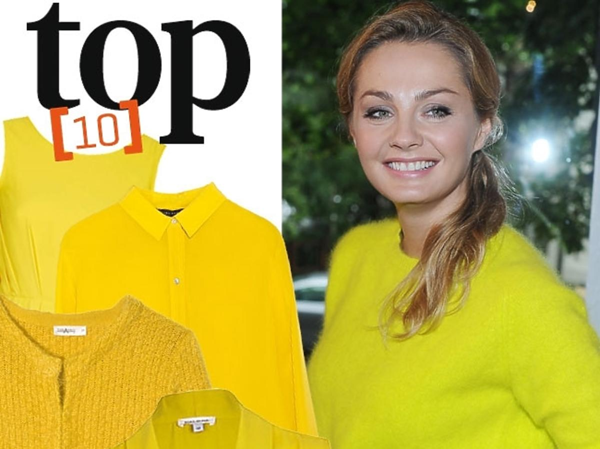 Żółte ubrania
