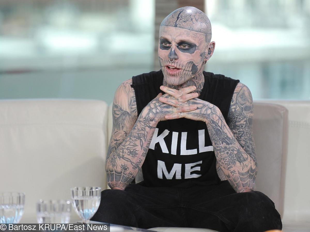 Zombie Boy w Dzień dobry TVN