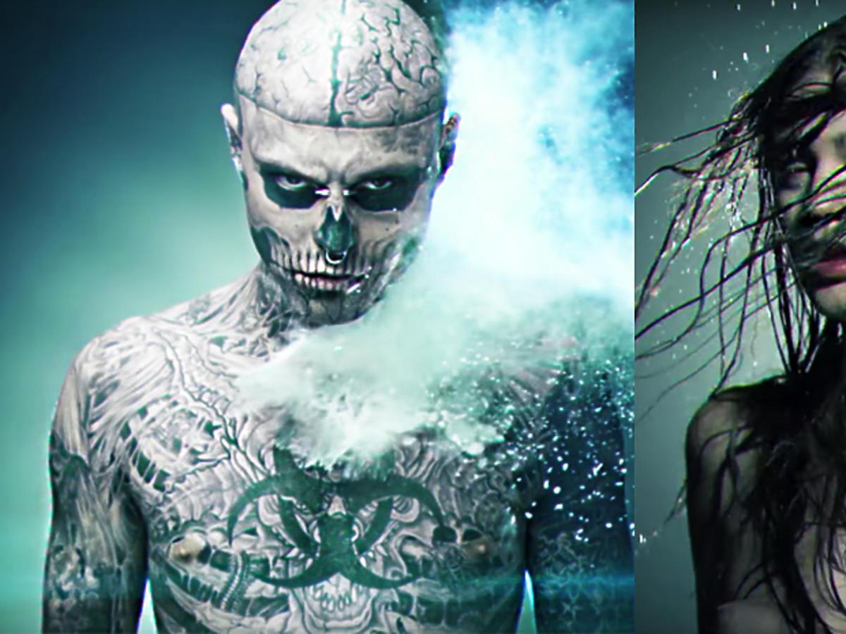 Zombie Boy zagrał w teledysku Honoraty Skarbek