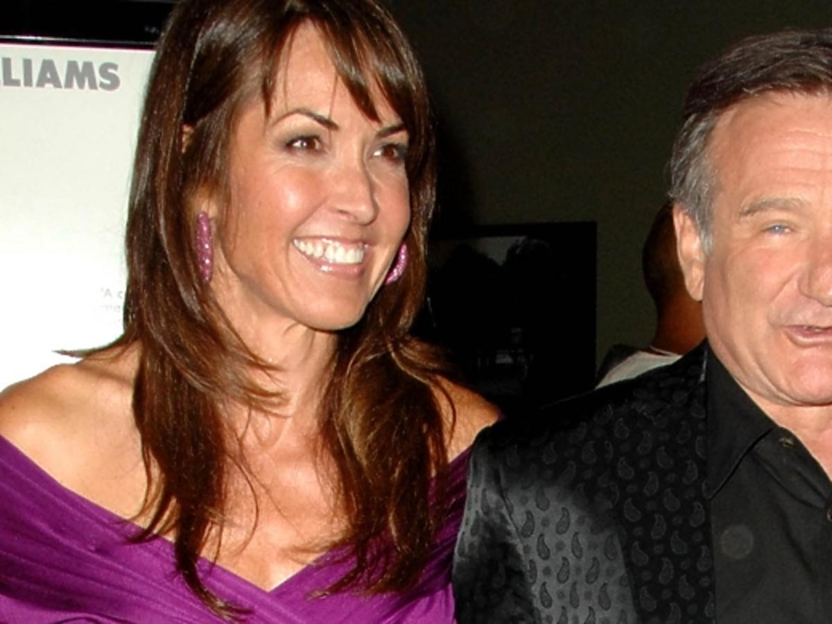 Żona o chorobie Robina Williamsa