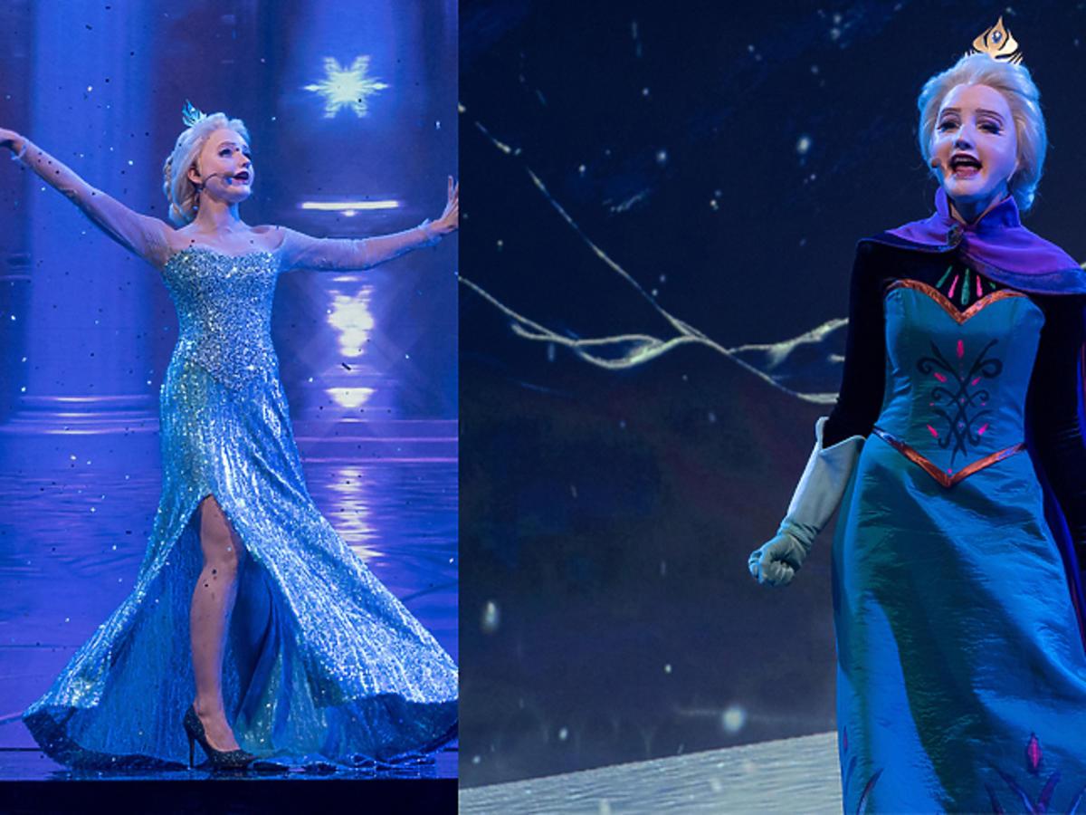 Zosia Nowakowska jako Elsa z Krainy Lodu!